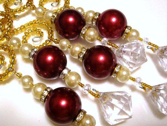 5 Regal Icicle Diamond Dangle Christmas by ChristmasisMagical