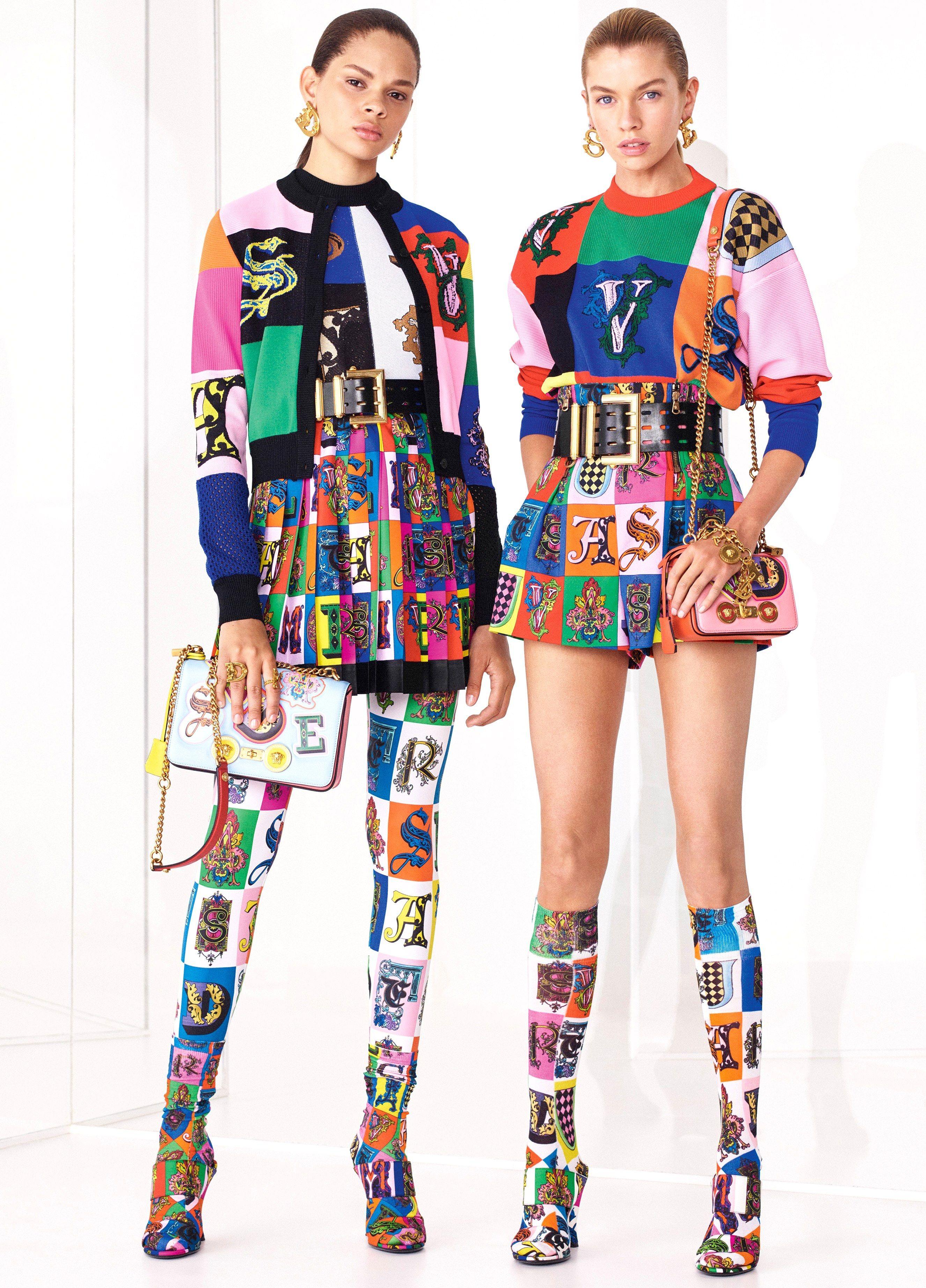 Collection : VERSACE RESORT 2019***  Versace fashion