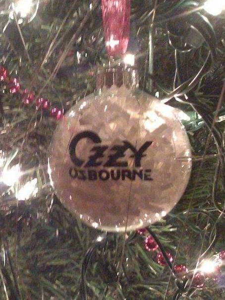 Ozzy Osbourne Christmas Ornament | Christmas ornaments ...