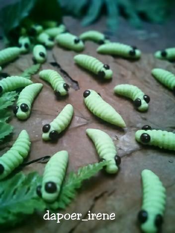 Resep Caterpillars Cookies Kue Ulat Oleh Ade Irene Resep Pewarna