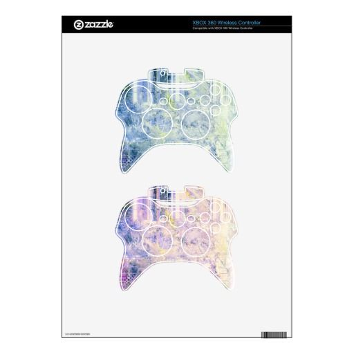 Hyperspeed Fractals Xbox360 Controller Skins Giftsfornerds Giftsforhim Custom Xbox Skin Protection Xbox 360