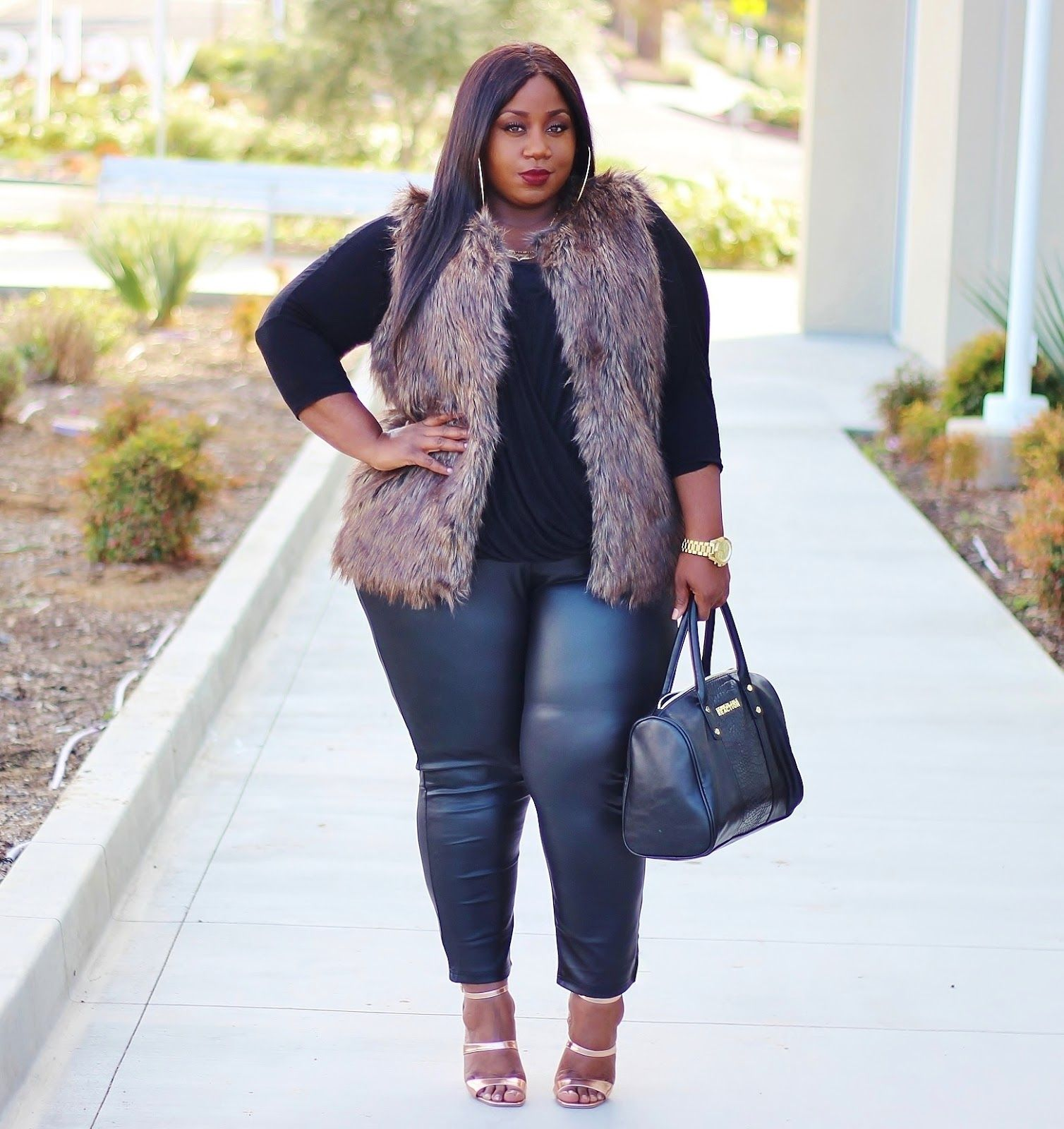 Plus Size Fashion for Women - LACE N LEOPARD: winter transition ...