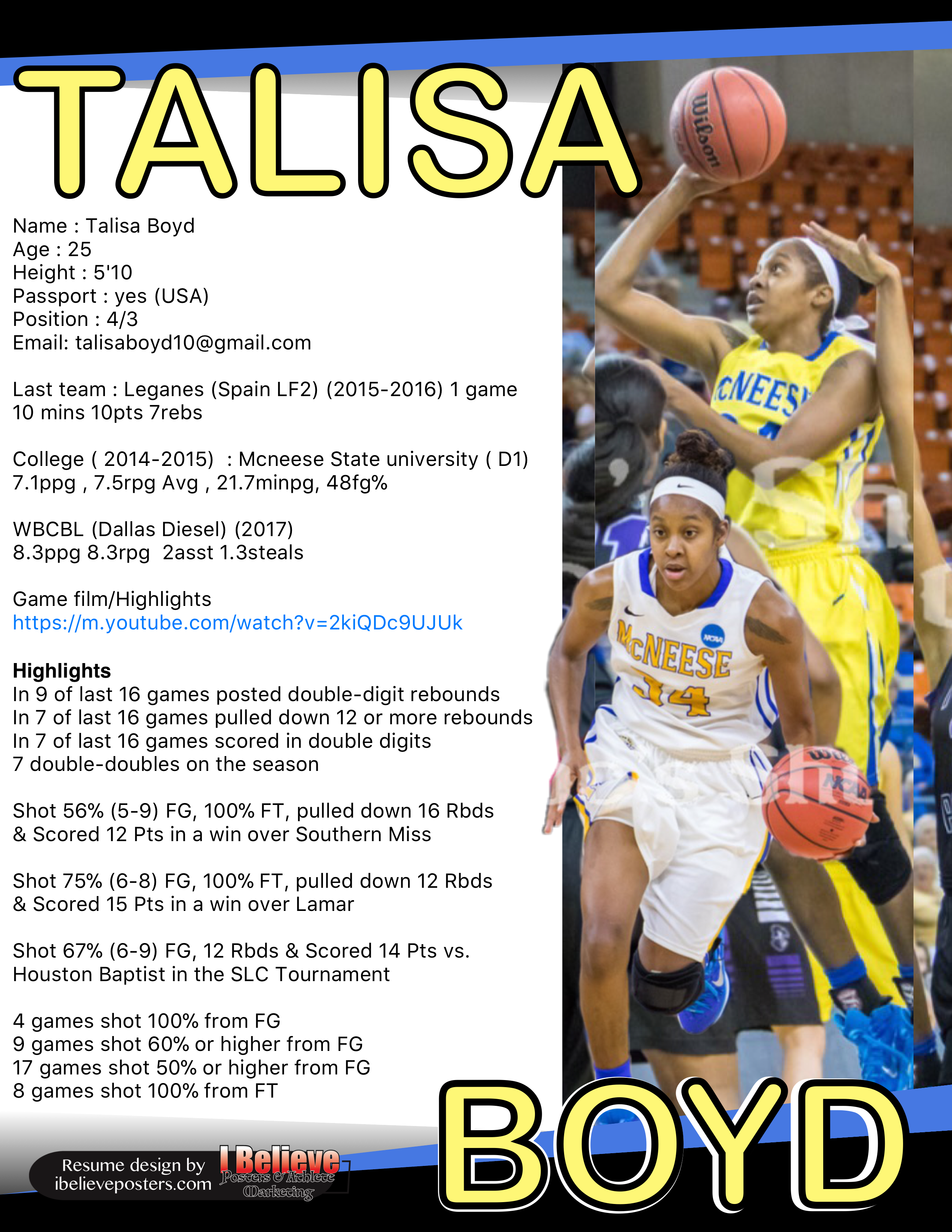 Pin By I Believe Sports On Sports Resumes Recruiting Flyers Leganes State University University