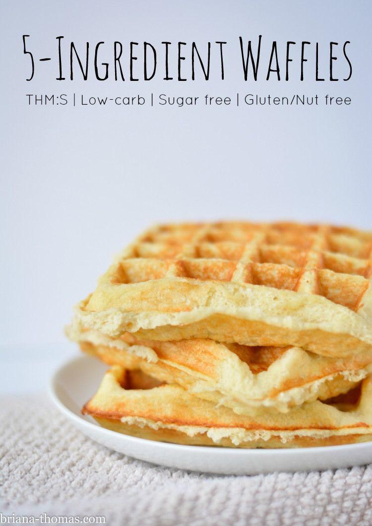 5 Ingredient Waffles Amp Pancakes Recipe Food Food