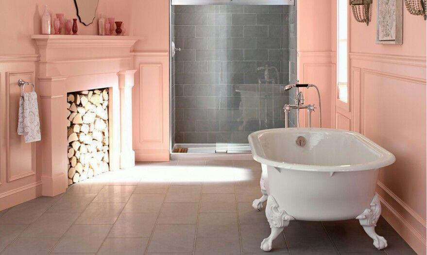 kohler claw footed tub  french country bathroom dream