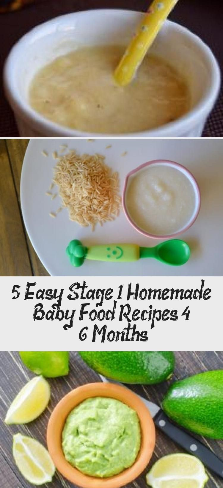 5 easy stage 1 homemade baby food recipes for babies 4 - 6 ...