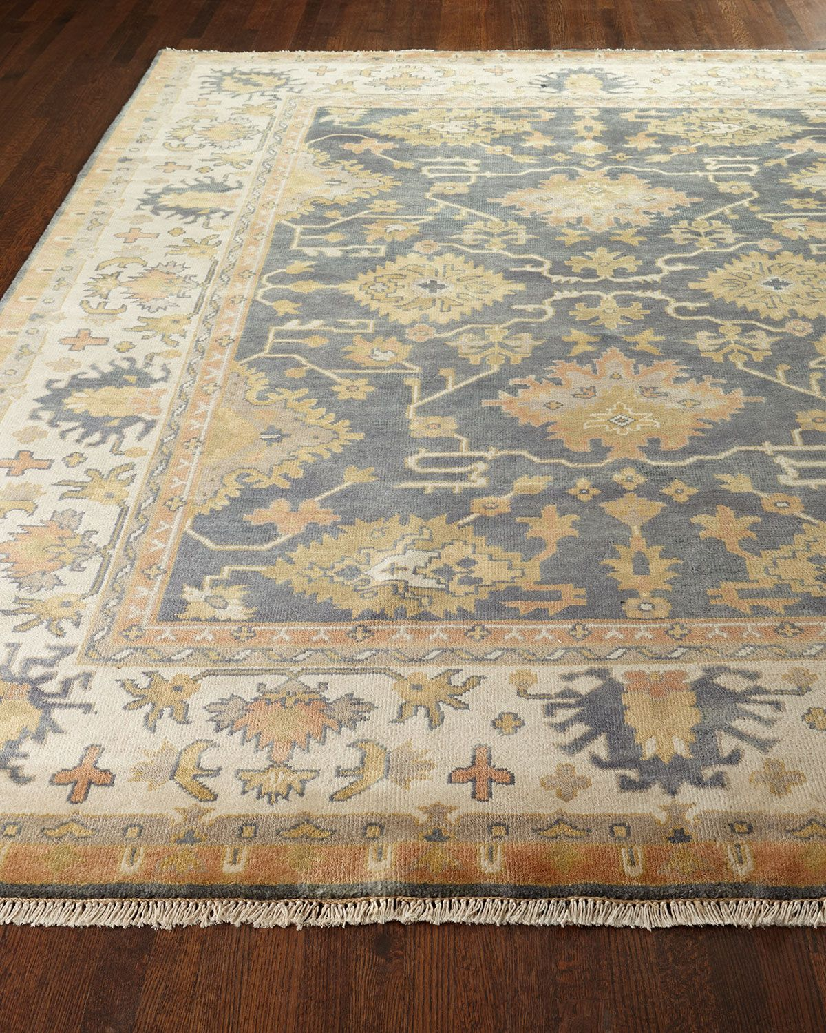 Kendra Oushak Rug 9 X 12 Rugs Hand Tufted Rugs Traditional Rugs