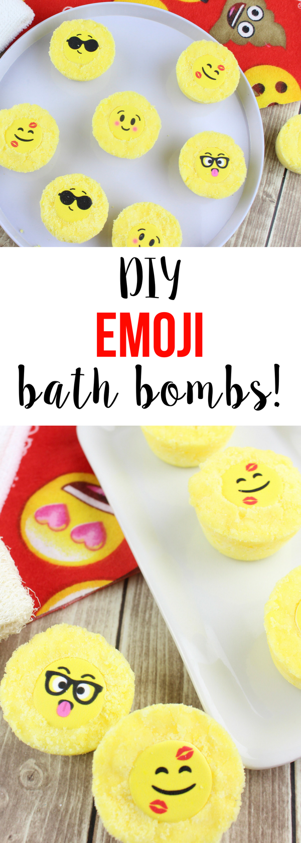 Emoji bath bombs recipe emoji faces diy baths and bath bomb do it yourself bath bombs with cute emoji faces get the ingredient list and recipe solutioingenieria Gallery