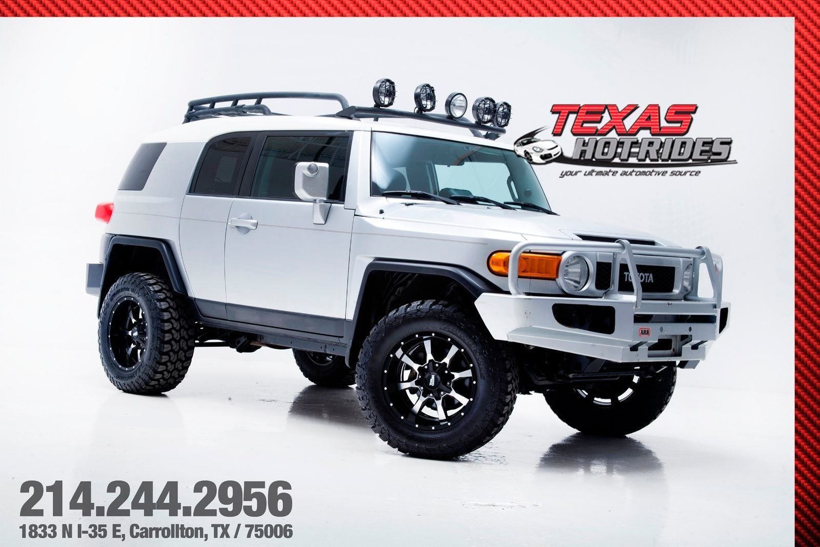 Cool Toyota 2017: 2007 Toyota FJ Cruiser 4X4 Lifted With Upgrades 2007  Toyota FJ Cruiser SUV 4X4 Lifted With Upgrades! Check more at ...