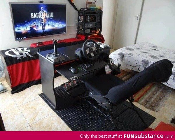Perfect Gaming Setup Game Room Design Video Game Rooms Gamer