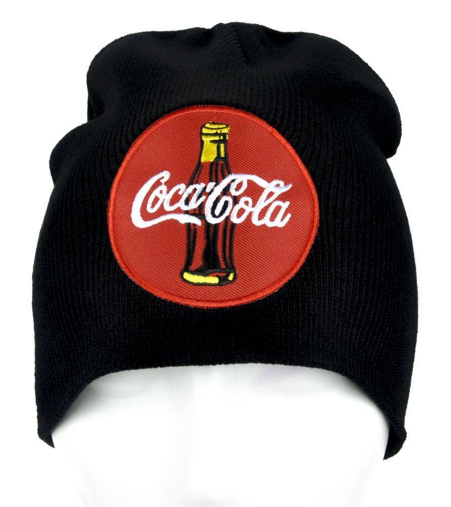 027a9703bb0f5 Classic Coke Coca-cola Soda Pop Beanie Alternative Clothing Knit Cap ...