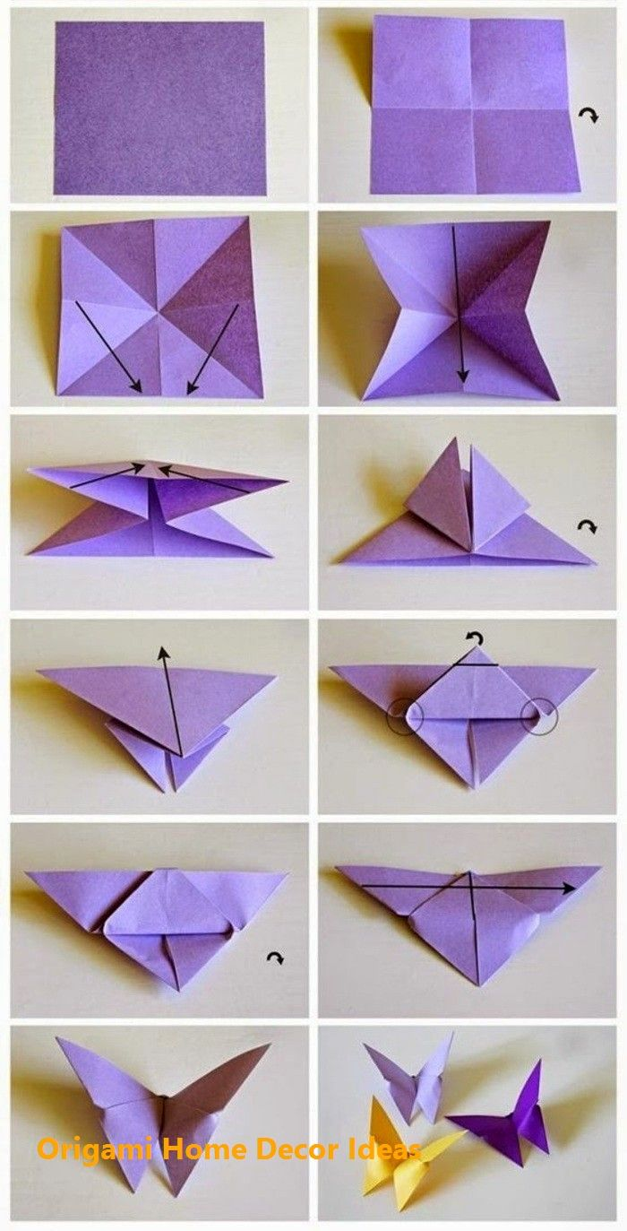 Photo of  Einfache DIY Origami Home Decor Ideen