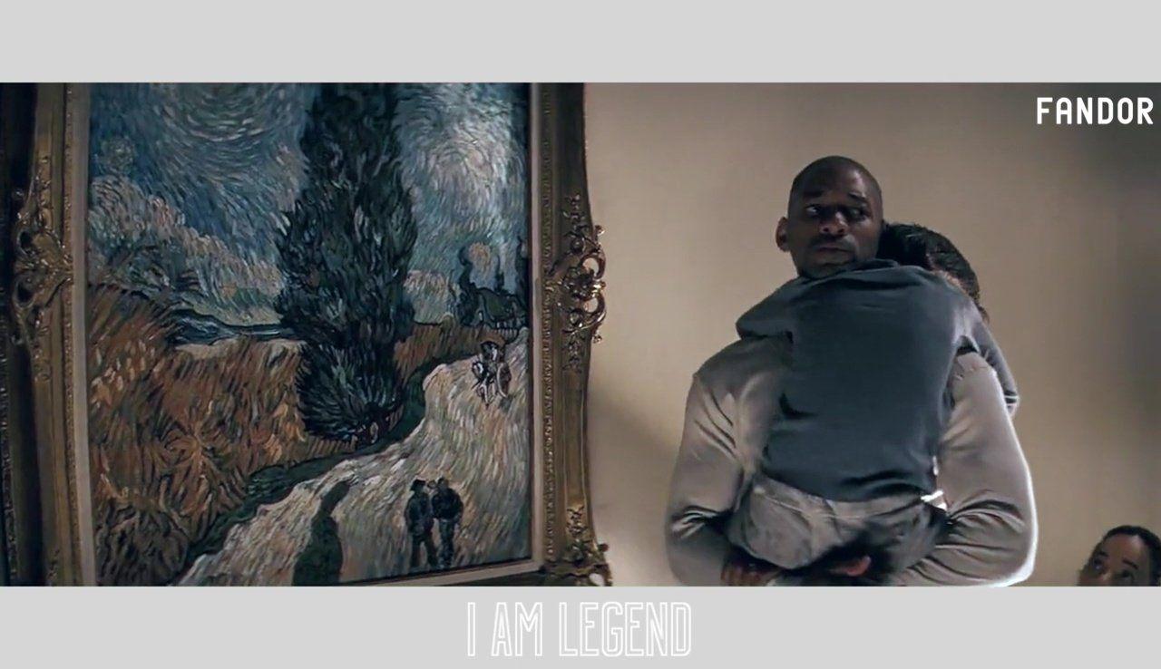 La pintura en el cine | Soy leyenda, Cómo fue y Cine