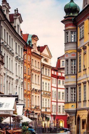 Download Free Prague Street Corner Iphone Wallpaper Mobile
