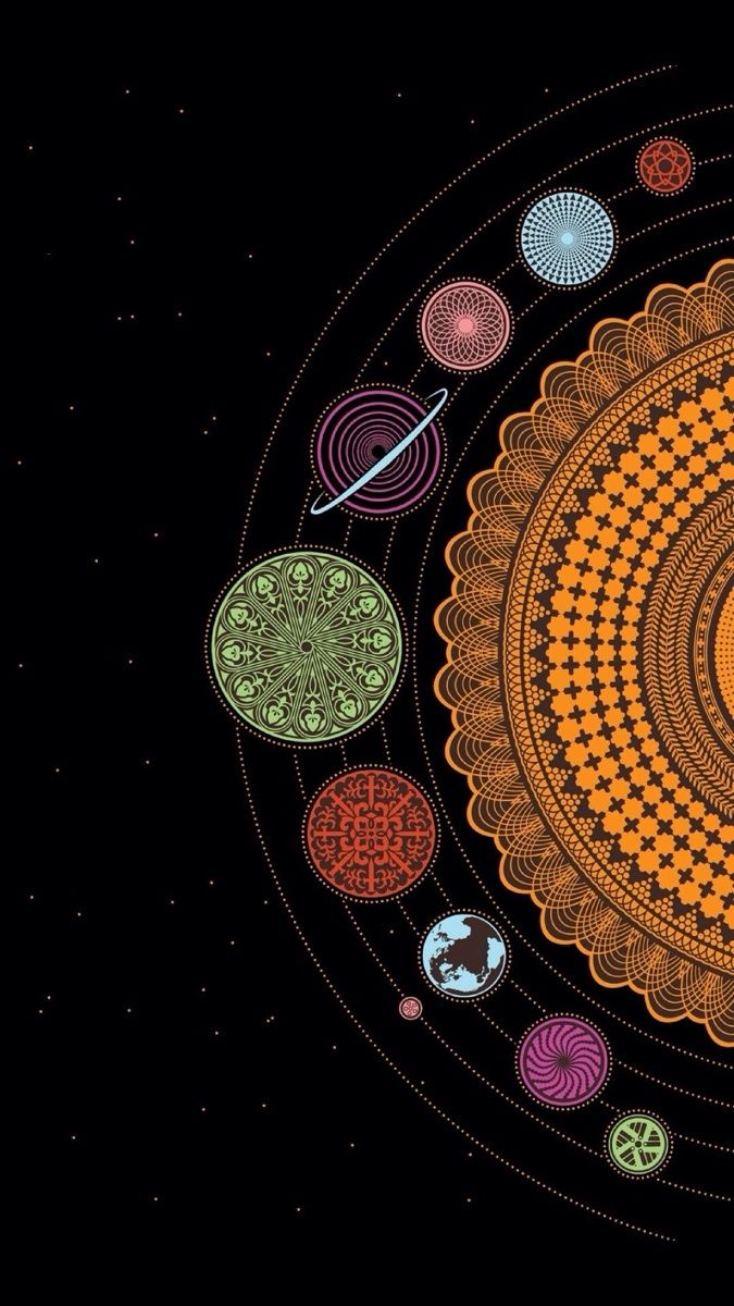 Iphone Wallpapers Psychedelic Art Phone Wallpaper Mandala