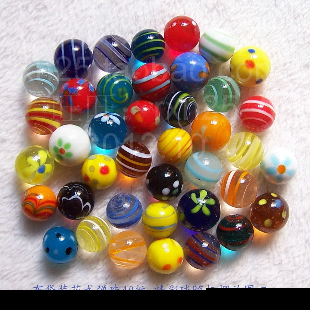 Hot Crafts Colored Glass Balls 16mm Ball Glass Aquarium