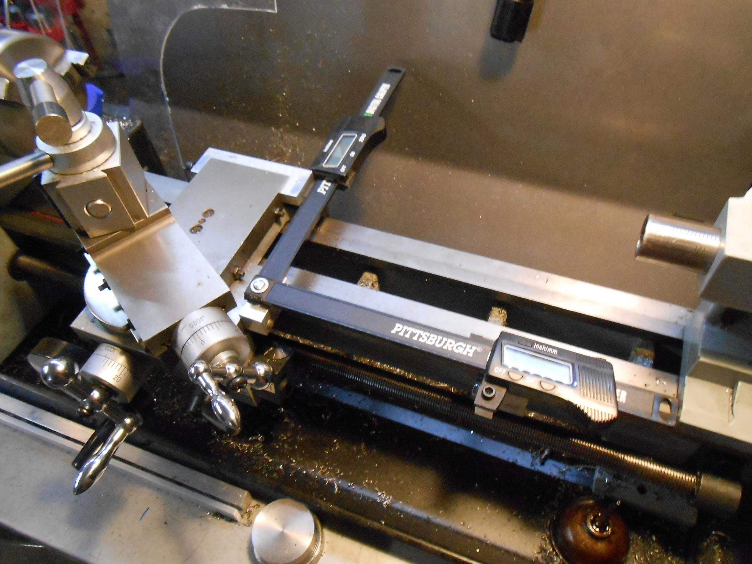 Poor Mans Lathe DRO's by bobs409 - Just a shot of some cheap