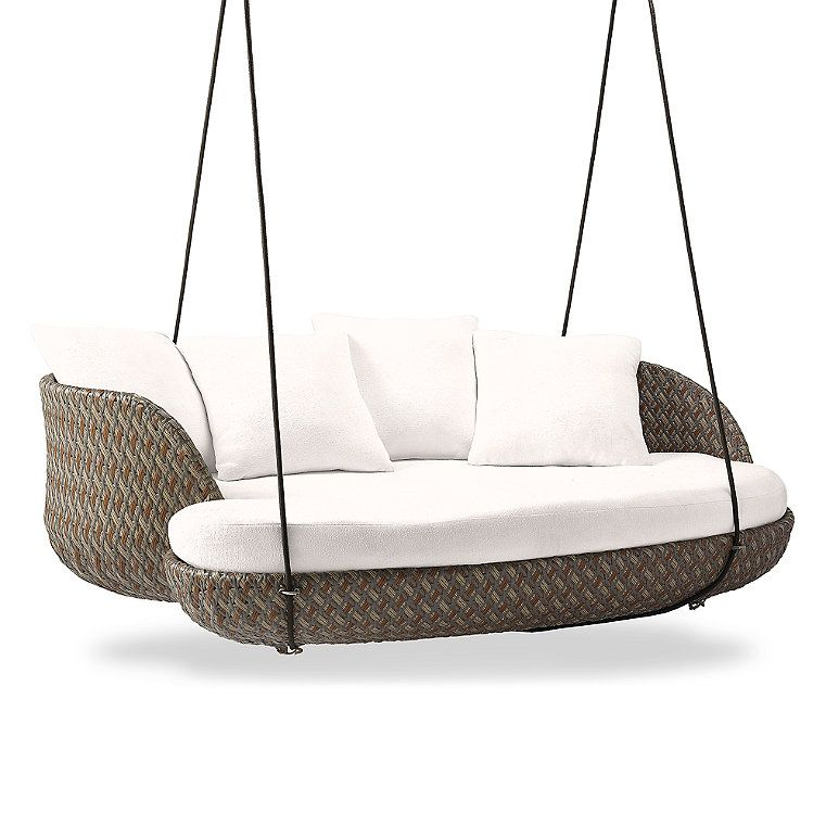 Malia Hanging Daybed Cushion Frontgate Hanging Daybed Daybed Cushion Daybed