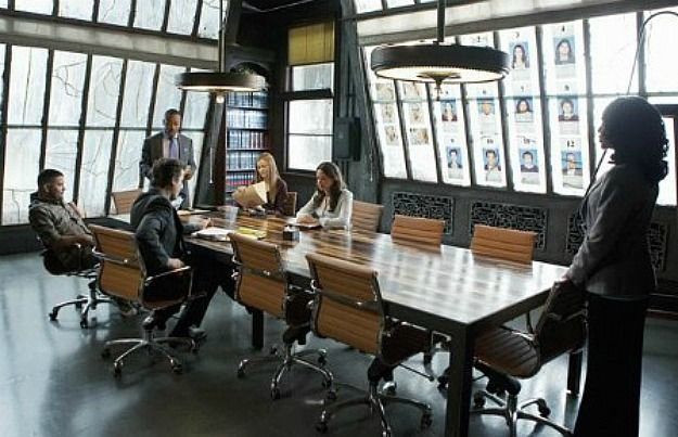 Set Design On Scandal Olivia Pope S Apartment And Office Industrial House Meeting Room Design Design