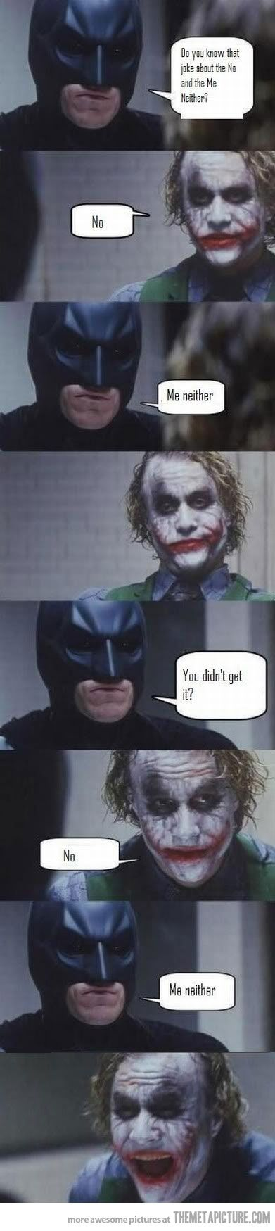 f14f428aabddc69528dba4861e33ec48 do you know that joke batman, humor and memes