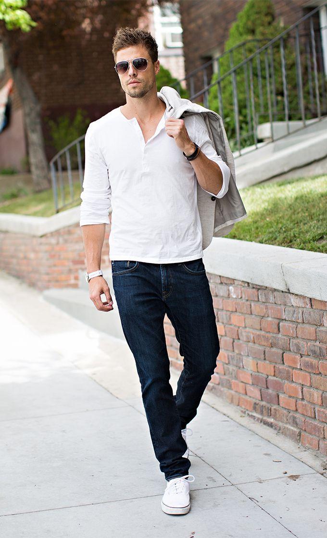 mens white vans fashion
