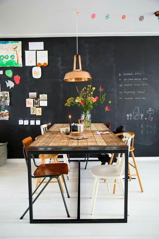 tafel constructie onderaan balk