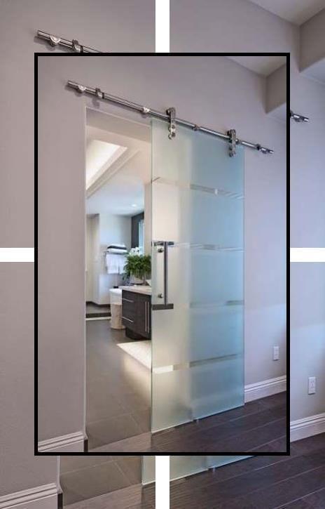 Photo of Sliding Room Doors | Wooden Door | Opaque Glass Sliding Doors