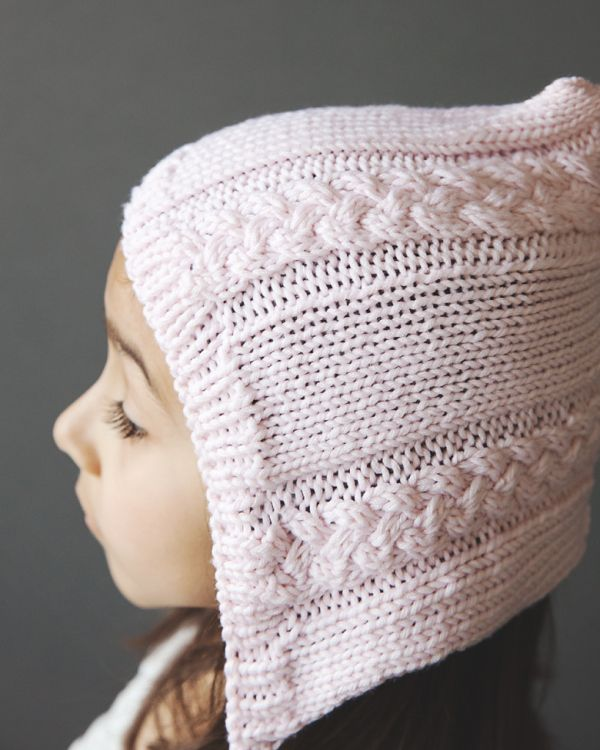 Knitting Pixie Hat Free Pattern : Free Cable Knit Pixie Hat Pattern knit hats, headbands, gloves & mitten...