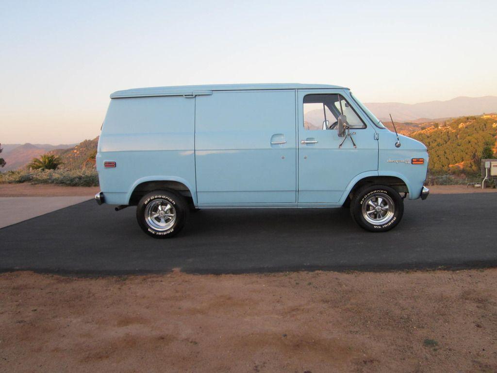 Chevrolet G20 Van Shorty Custom Vans Vans Chevy Van