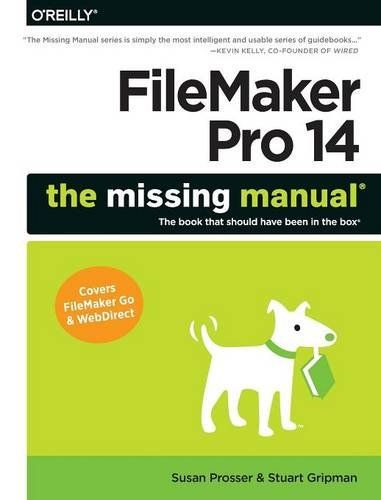 1491917482 - FileMaker Pro 14: The Missing Manual - http://lowpricebooks.co/2016/09/1491917482-filemaker-pro-14-the-missing-manual/
