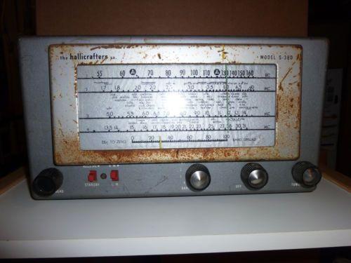 Hallicrafters s 38D Shortwave Receiver   eBay