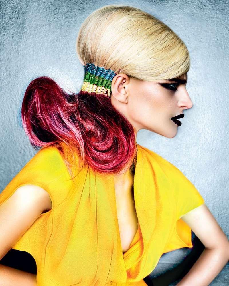 Причёски и стрижки фото из коллекции pop art collection hair