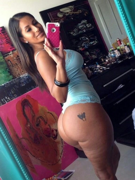 latina with selfie Amateur tattoos