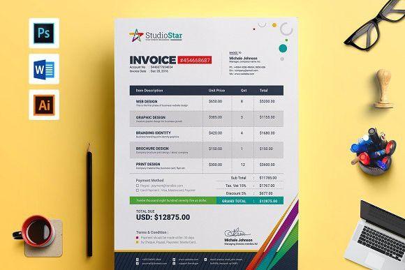 Invoice Bill Cash Memo Template Invoice Invoicetemplate