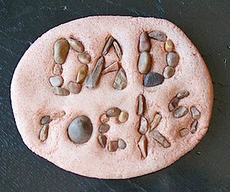 With a little assistance from an adult a prek child could make this paperweight for dad. Start off with a nature walk outside to collect tiny rocks. So, it's double the fun!