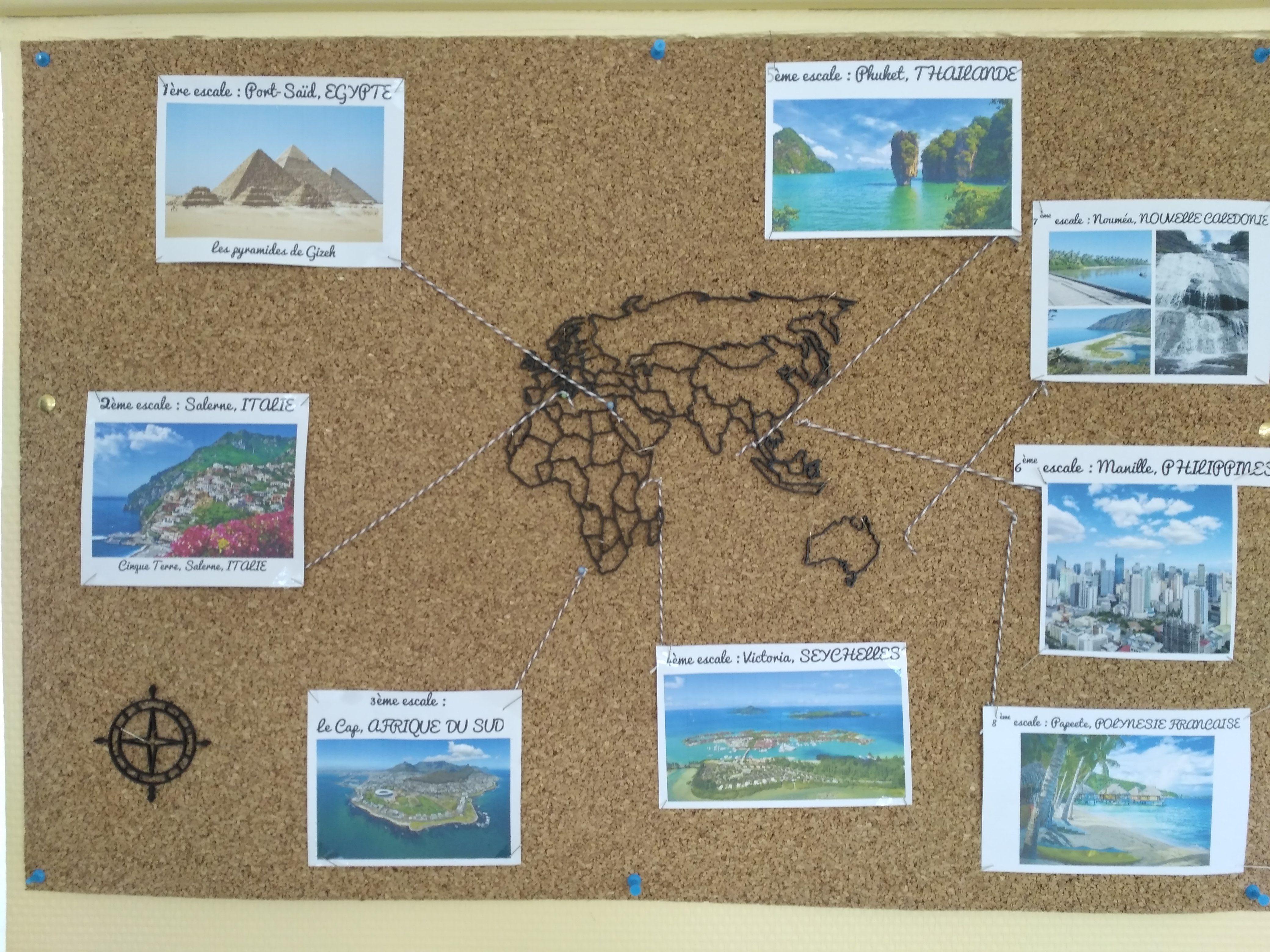 Projet « Le Grand Voyage » : La carte #géographie # ...