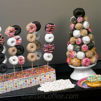 Donut Party #donutcake