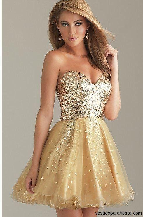 Imagenes de vestidos de fiesta cortos con cola