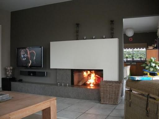 inbouwhaard tv voorbeelden google zoeken woonkamer pinterest living rooms fire places. Black Bedroom Furniture Sets. Home Design Ideas