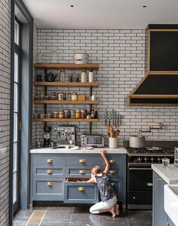 Küchenregale Designs - Was für Regale sind für die Küche am ...