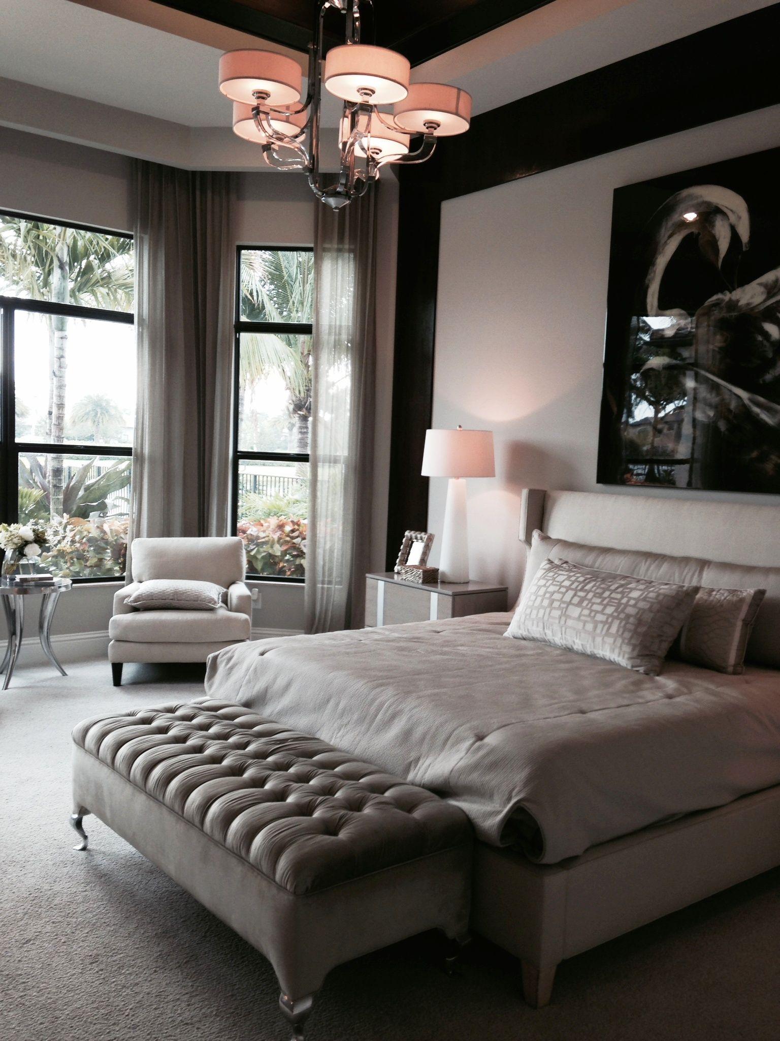 Model home bedroom | Inside a Home in 2019 | Bedroom decor ... on Model Bedroom Interior Design  id=24661