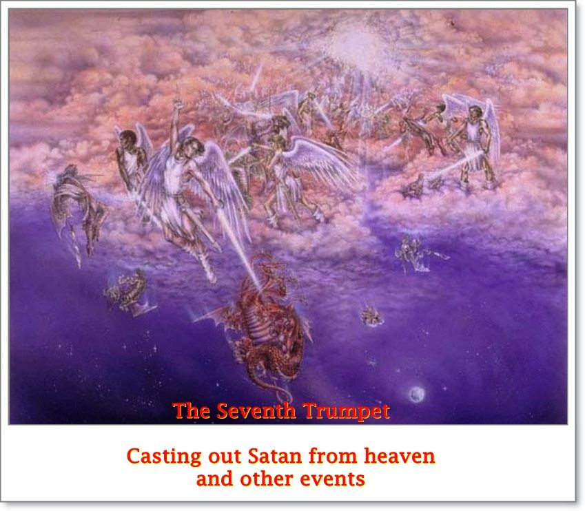 The seventh trumpet covers a period of time and includes many great events like casting out of Satan from heaven which make it possible for God to take over the governments of this world at the time he has planned to do so -the 2nd advent.
