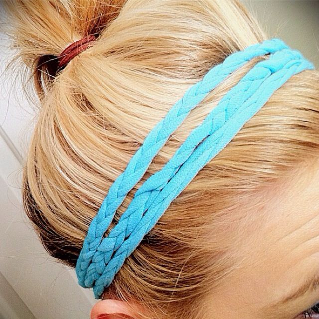 Pin by Kristen Calabrese on Fitness | Braided headband, Diy braids, Diy hair accessories