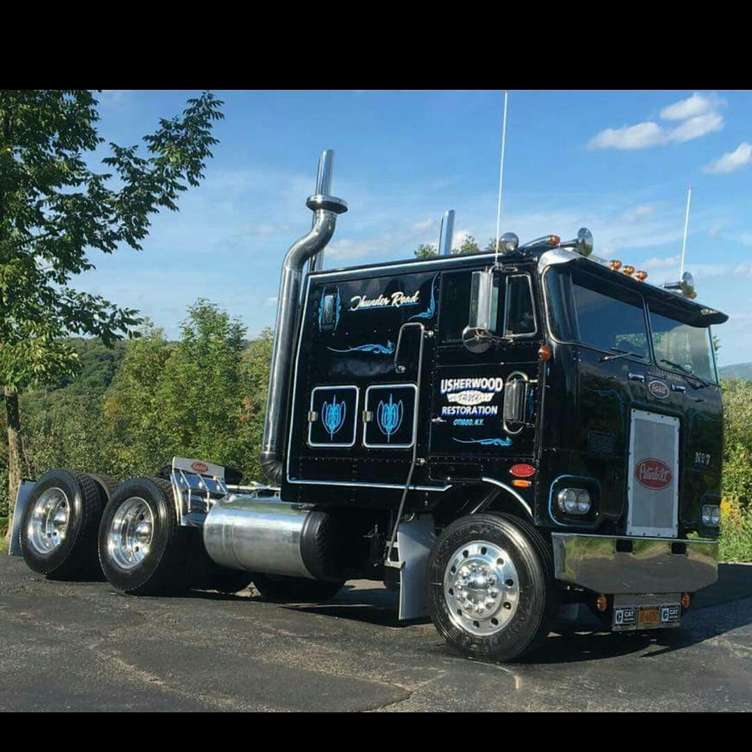 Coe Peterbilt classic 352 - We buy used trailers in any condition ...