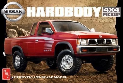 AMT 1031 Nissan Hardbody 4x4 Pickup Truck 1/20 Plastic Model