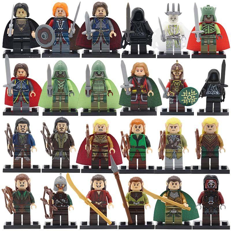 Die Hobbits Herr Der Ringe Bausteine Modell Sets Spielzeug