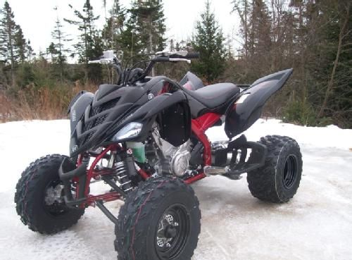 2008 Yamaha Raptor 700 Se