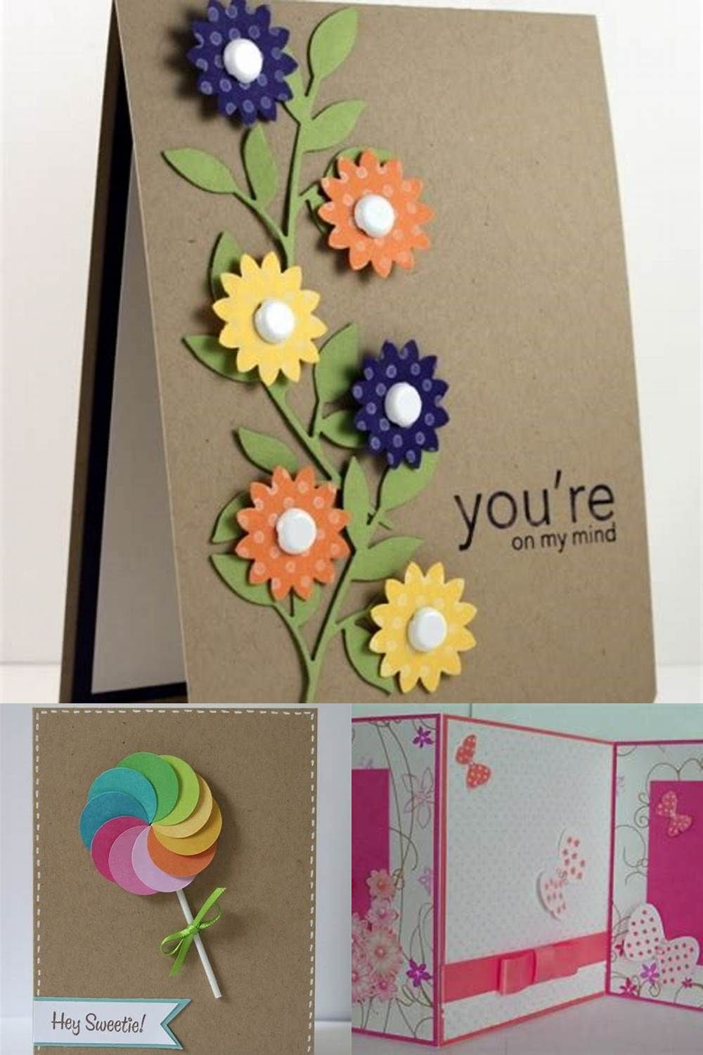 Handmade Anniversary Card Ideas And Images Birthday Cards