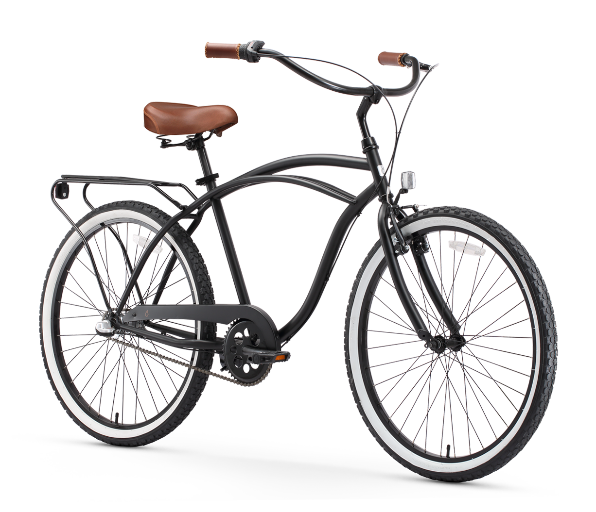 """NEW SPRINGER FRONT END FOR 26/"""" BEACH CRUISER BICYCLES  BLACK  NICE"""