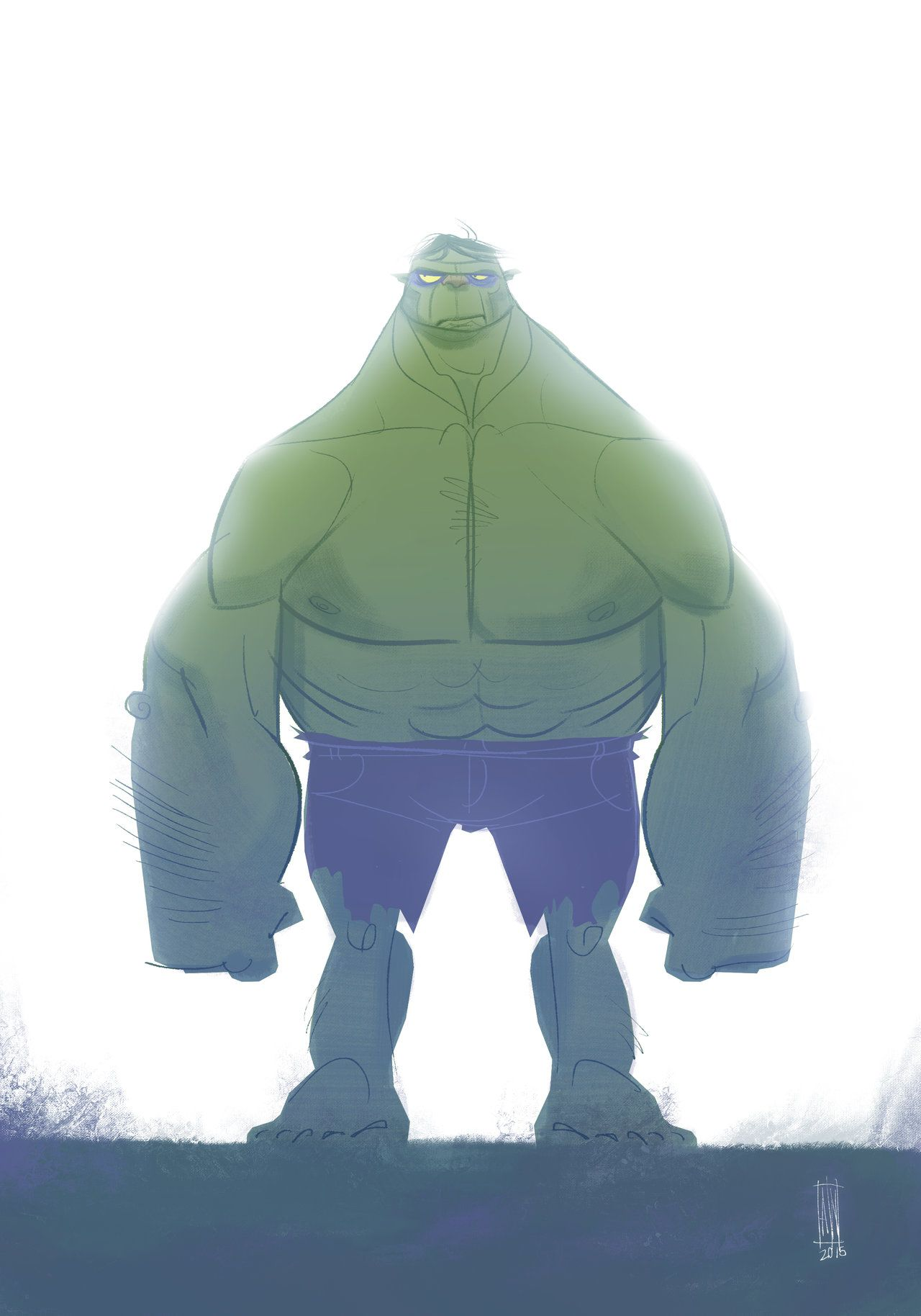 #Hulk #Animated #Fan #Art. (Hulk) By: Andersonnascimento. (THE * 3 * STÅR * ÅWARD OF: AW YEAH, IT'S MAJOR ÅWESOMENESS!!!™)[THANK Ü 4 PINNING!!!<·><]<©>ÅÅÅ+(OB4E)   https://s-media-cache-ak0.pinimg.com/564x/f1/4f/ea/f14fea74ca3cb0f02c08e2a8a21b2251.jpg